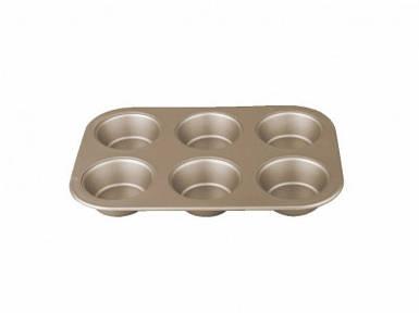 Форма для выпечки маффинов (бронзовая) Berlinger Haus My bronze pastry cook 26x17 см BH-1429