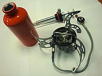 Горелка мультитопливная (газ, бензин, дизель) со шлангом и подогревом, 013 TRG-013 Tramp 21096