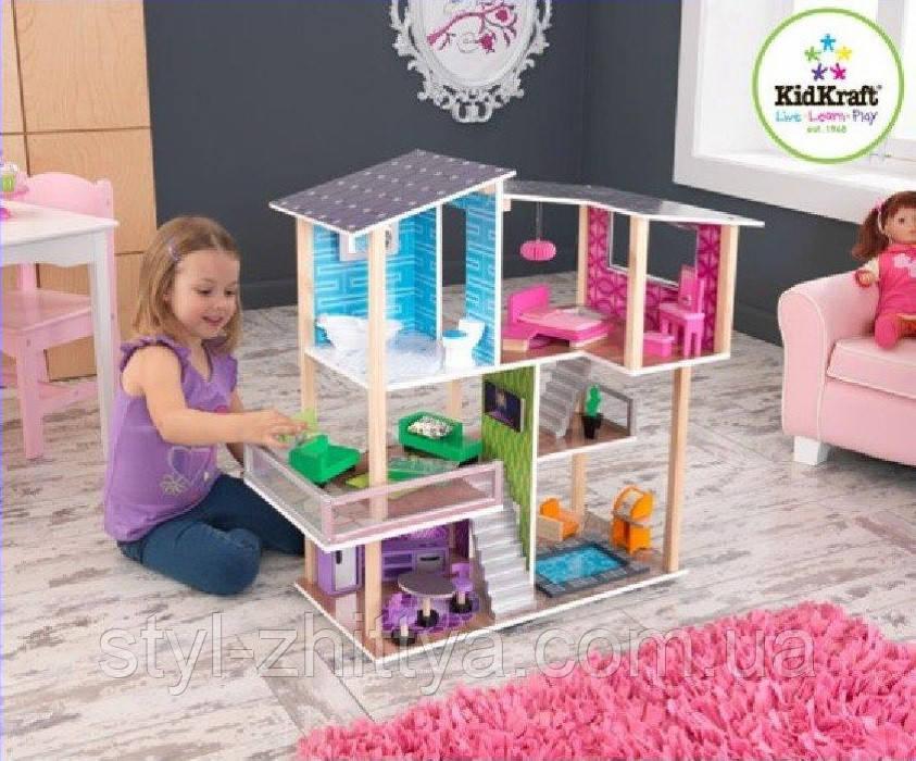 Ляльковий будиночок KidKraft MODERN LIVING DOLLHOUSE