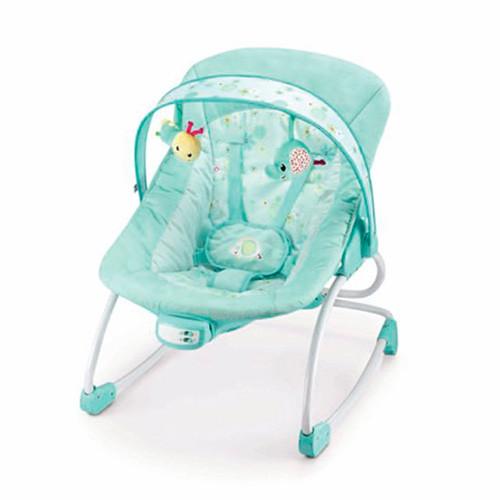 Шезлонг-качалка детский 6906 мятная
