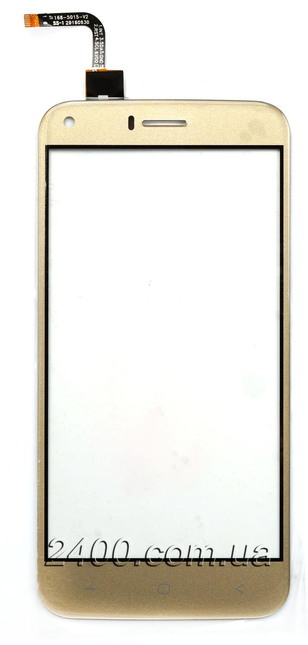 Тачскрин для Umi London - сенсор (тач) телефона Уми Лондон золотой