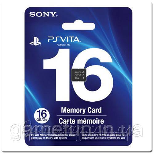 Карта памяти PlayStation Vita 16Gb