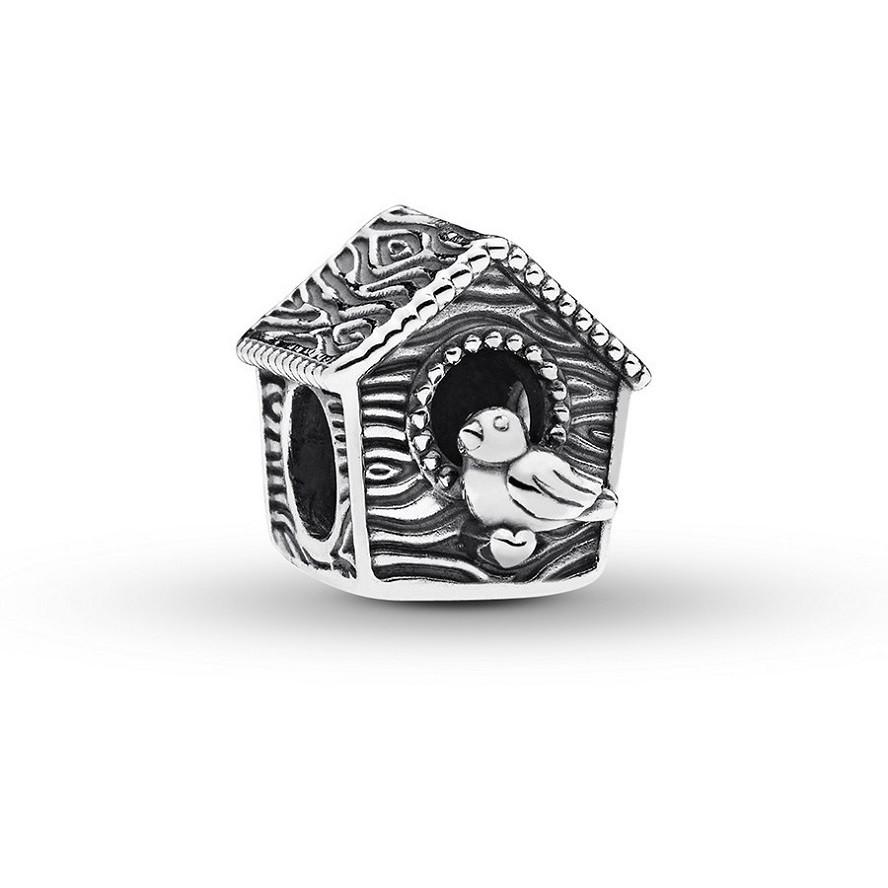 Шарм Pandora Spring Bird House Sterling Silver
