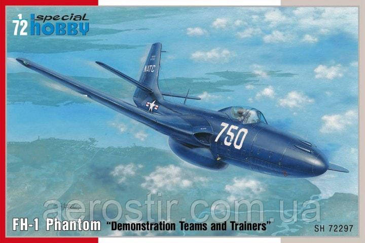 """FH-1 Phantom """"Demonstration Teams and Trainers"""" 1/72 Special Hobby 72297"""