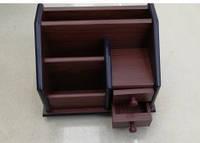 Органайзер, подставка офисная, для канцтоваров дерево № 8030\3040-18 (заводской брак, пятно)