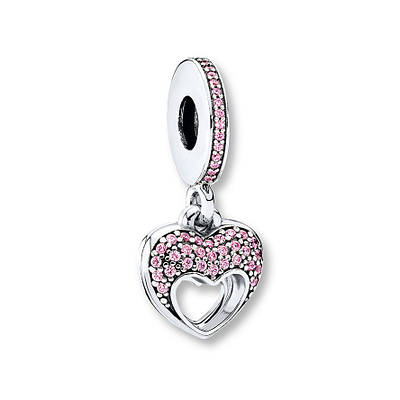 PANDORA Dangle Charm Mother's Love Sterling Silver