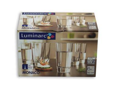 Набор стопок Luminarc Monaco H5125/1 50мл