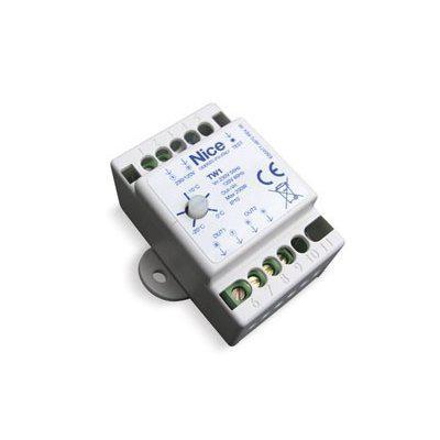Термостат NICE TW1 для обігрівального елемента PW1 з регульованою температурою включення