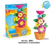 Игрушка в ванну Цветы в горшке 9909