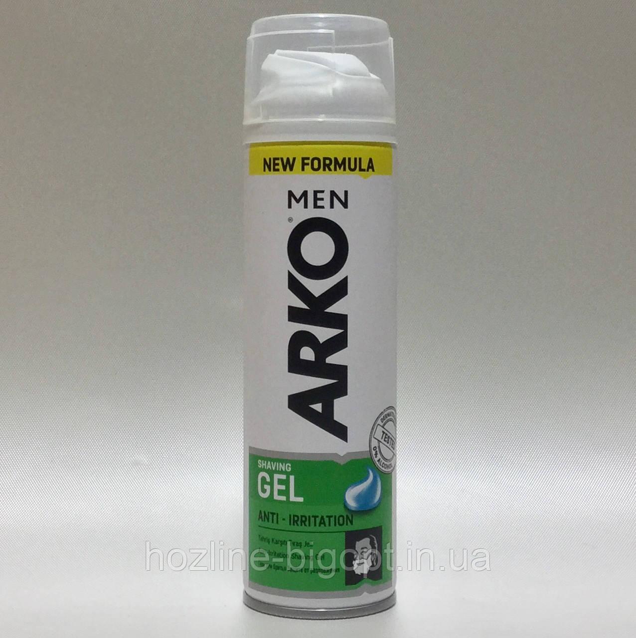 ARKO Гель для бритья Anti Irritation 200 мл