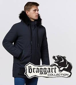 Braggart Black Diamond 9985 | Куртка мужская зимняя графит