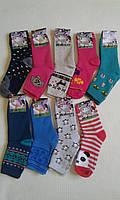 Носки детские теплые, махровые на девочек,р.21. От 12 пар по 11грн