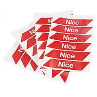 Светоотражающие наклейки на стрелу NICE WA10, фото 1