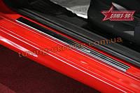 Накладки на внутр. пороги без логотипа (компл.2шт.) на металл Союз 96 на Fiat Grande Punto 2005-2009 3D 2