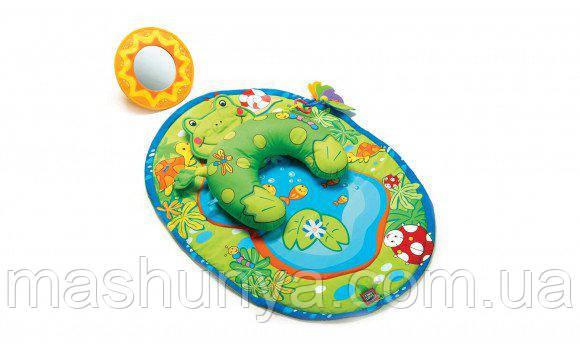 Развивающий коврик с подушкой Tiny love Лягушка