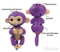 Интерактивная обезьянка Fingerlings (purple), фото 1