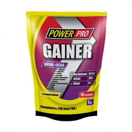 Гейнер Amino+BCAA Power Pro 1 кг