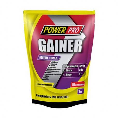 Гейнер Amino+BCAA Power Pro 1 кг, фото 2
