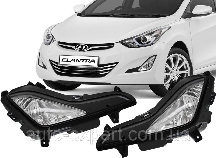 Противотуманные фары Hyundai Elantra MD 2014- (DLAA)