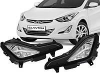Противотуманные фары Hyundai Elantra MD 2014- (DLAA), фото 1