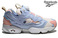Женские кроссовки Reebok Insta Pump Fury Tech Pink Patina Aniator Blue  РЕПЛИКА ААА 99b506dcea032