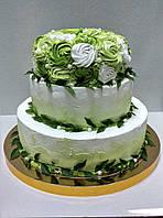 """Свадебный торт на заказ """"Свежесть"""""""