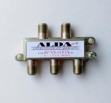 Разветвитель ТВ сплиттер, Alda splitter 4-way