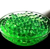 Гидрогель, шарики гелиевые, 250шт, диаметр 1см, цвет Зеленый