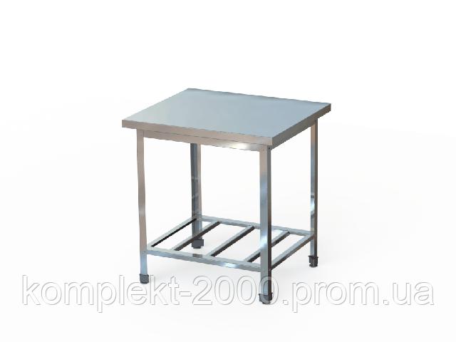 столик 600*600 из нержавеющей стали
