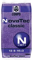 Удобрения для хвойный растений  COMPO NovaTec сlassic 25 кг NPK 12-8-16+3+ME .