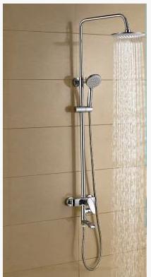 Стойка душевая в ванную комнату с тропическим душем 5-030