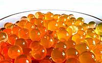 Гидрогель, шарики гелиевые, 250шт, диаметр 1см, цвет Оранжевый