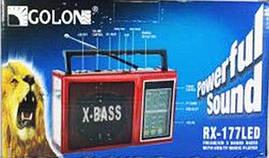 Радиоприемник Golon RX-177 (радио галон 177)