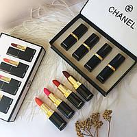 Набор губных помад Chanel 4 шт (Реплика)