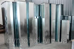 Повітроводи з нержавіючої сталі