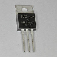 MBR15200SCT  (TO-220A)