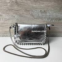 Стильные кожаныt сумочки - клатчи Polina&Eiterou, фото 1
