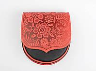 Авторская сумочка ручной работы, натуральная кожа, оригинальный дизайн, фото 1