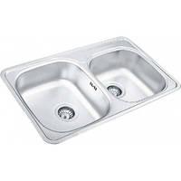 Кухонная мойка Ukinox CO 780.480.18 (матовая)