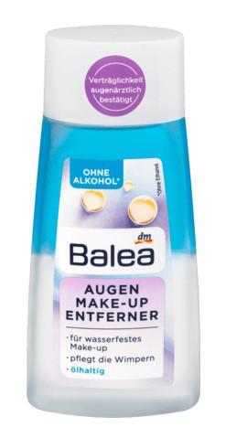 Средство для снятия макияжа Balea Augen Make-up Entferner ölhaltig, 100 ml
