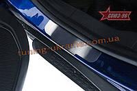 Накладка на внутренние пороги без логотипа (компл. 4шт.) Союз 96 на Ford EcoSport 2014