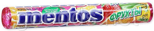 Жевательное драже Mentos фрукты 37г
