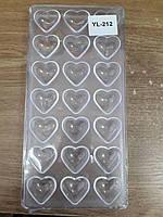 "Молд поликорбонат для шоколада  ""Сердце"""