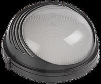 Светильник НПП1107 белый/круг ресничка 100Вт IP54