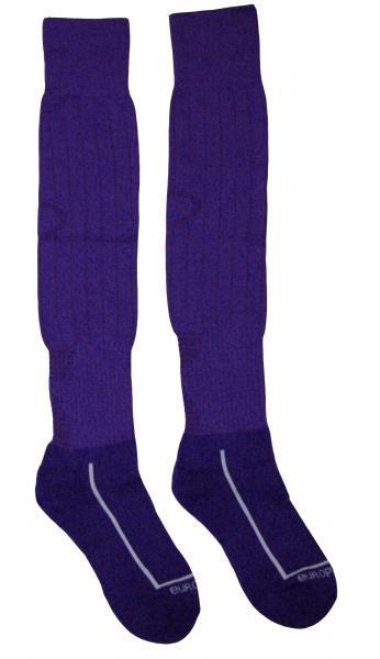 Гетры Europaw фиолетовые с трикотажным носком