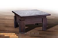 Стол-трансформер Дельта (СТЕКЛО) венге Микс мебель