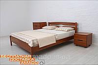 Односпальная кровать Ликерия-Люкс (бук) 200х80 Микс мебель
