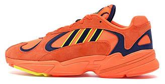 Мужские кроссовки Adidas Yung 1 Orange (адидас янг, оранжевые)