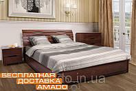 Кровать Мария (бук) с подъемным механизмом (высота изголовья 920мм)