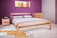 Кровать Ликерия (бук) с изножьем 200х160